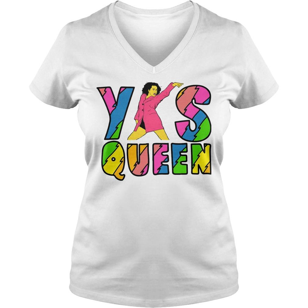 Broad City Yas Queen V Neck