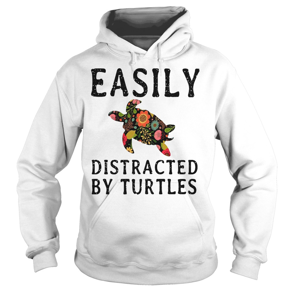 Easily Distracted By Turtles Hoodie