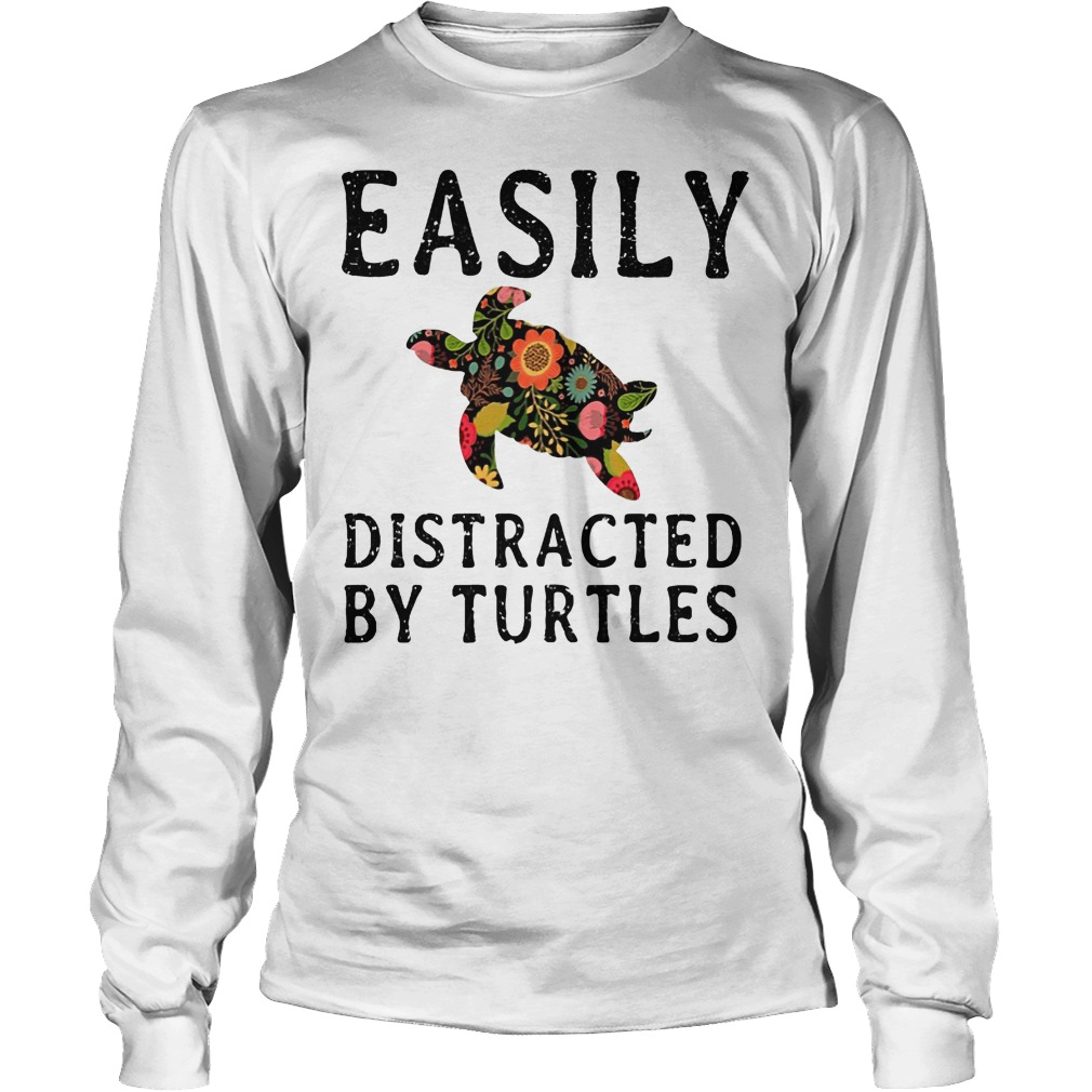 Easily Distracted By Turtles Longsleeve