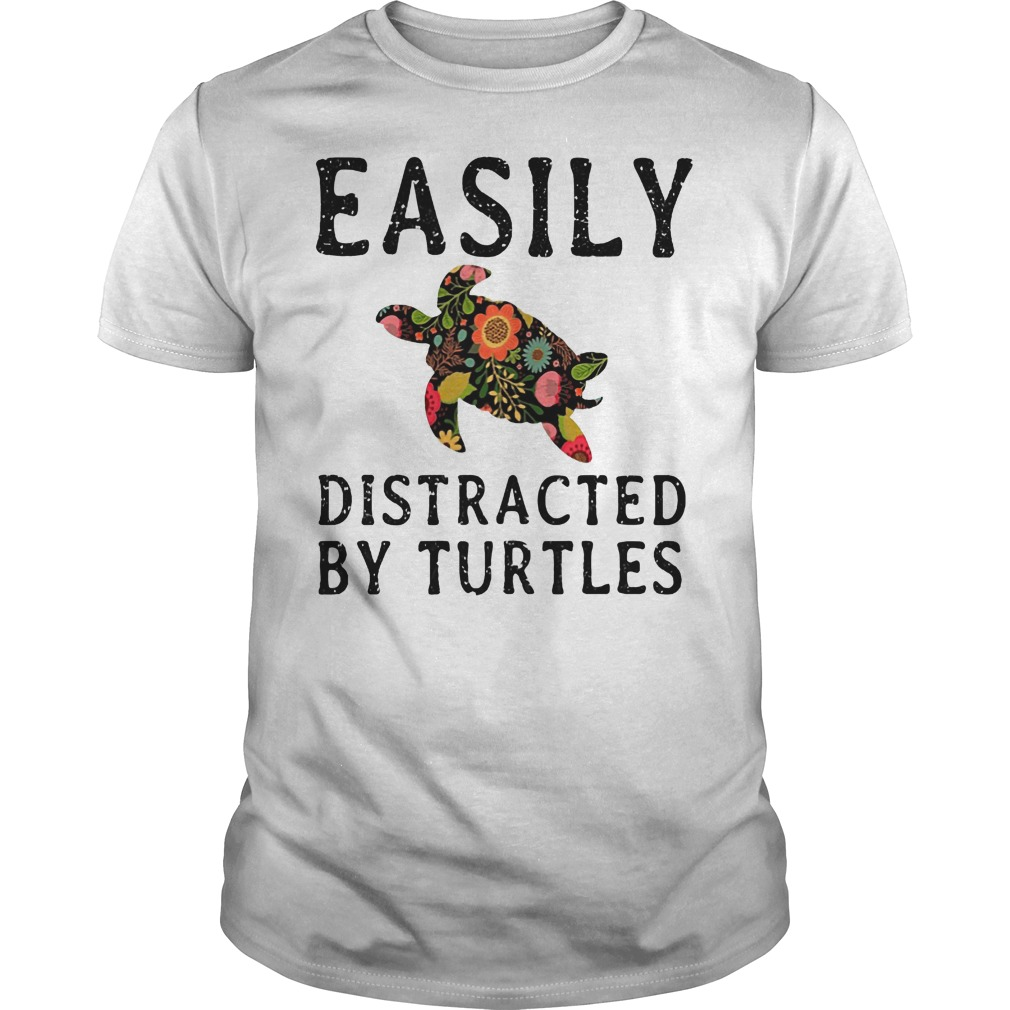 Easily Distracted By Turtles Shirt