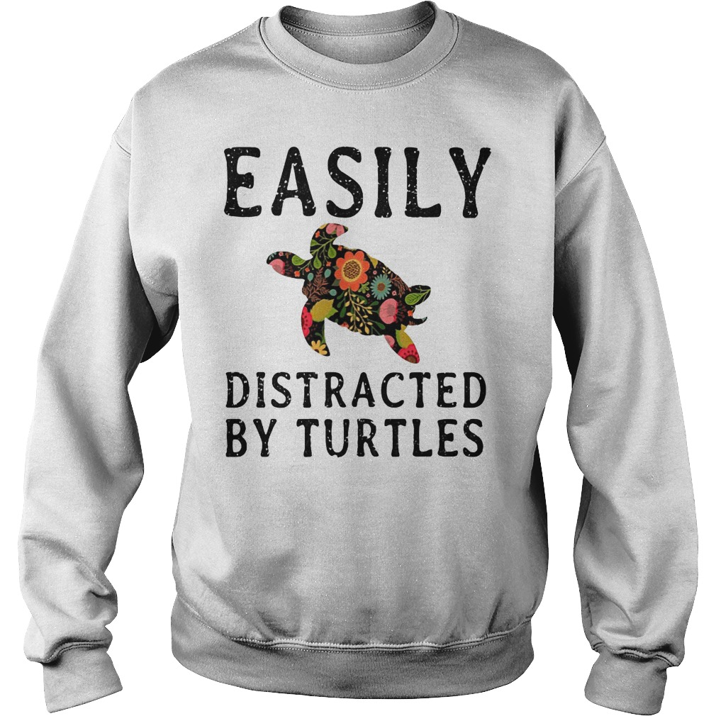 Easily Distracted By Turtles Sweater