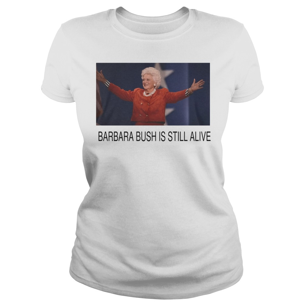 Former First Lady Barbara Bush Is Still Alive Ladies