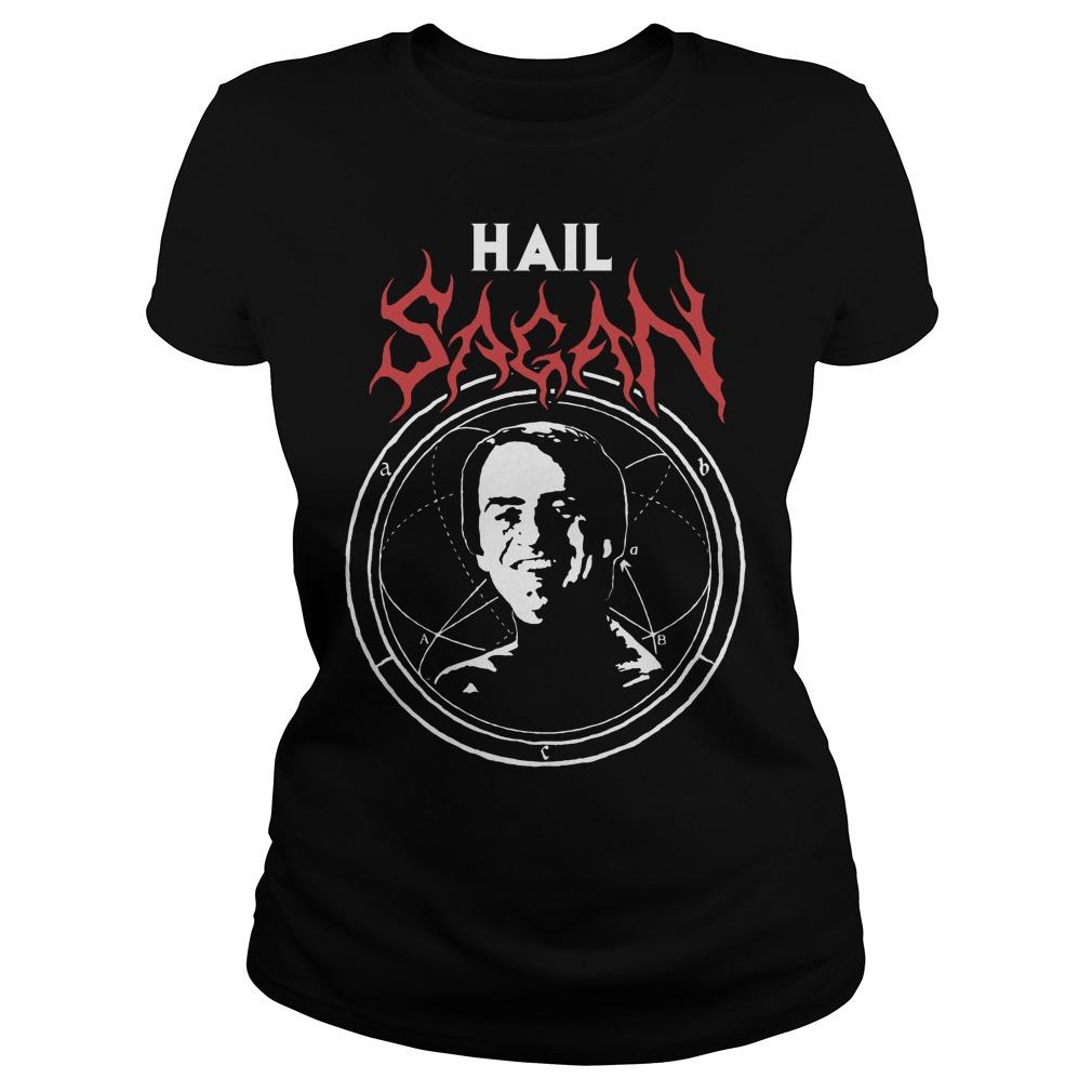Hail Sagan Camiseta Ladies
