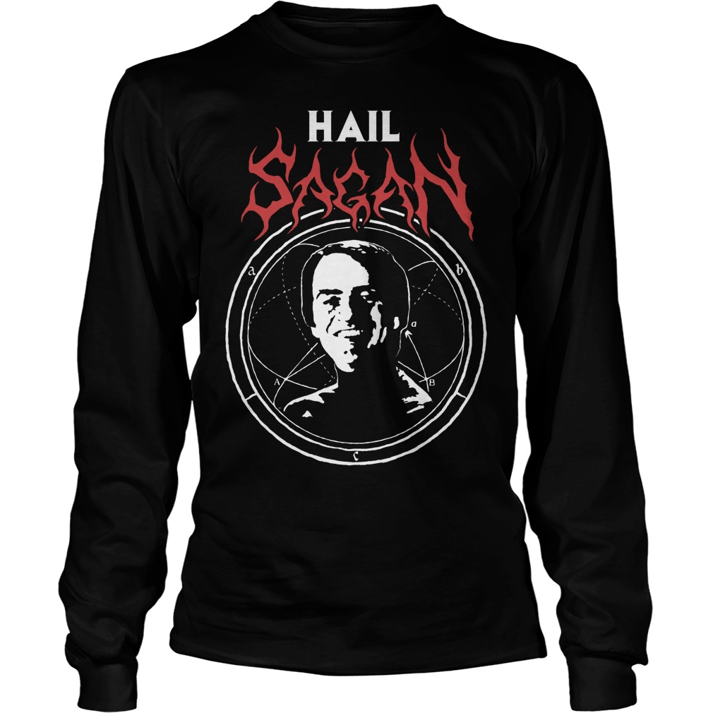 Hail Sagan Camiseta Longsleeve