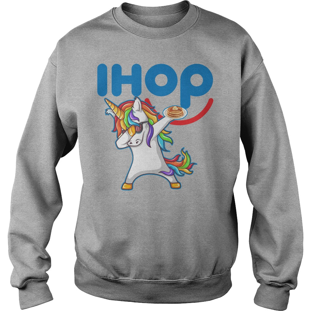 Ihop Unicorn Dabbing With Cake Sweater