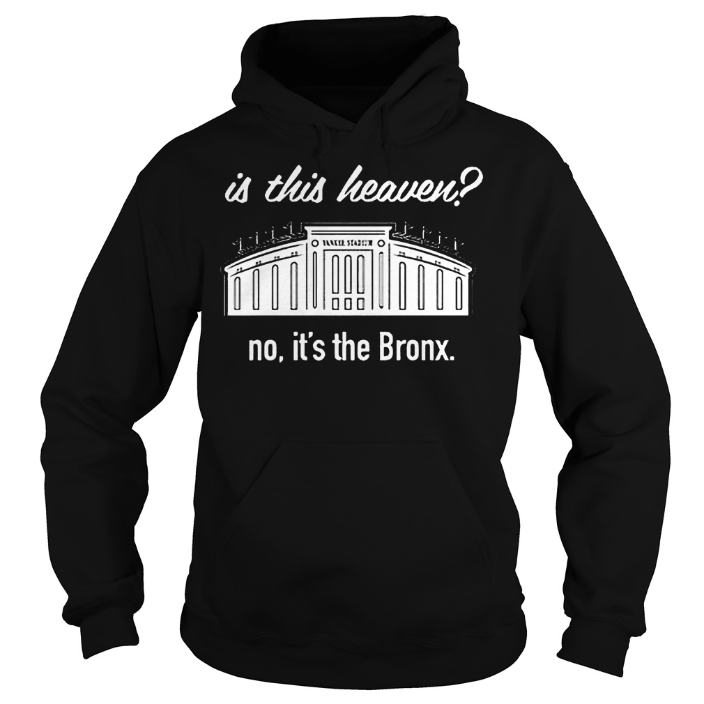 Is This Heaven No It's The Bronx Hoodie