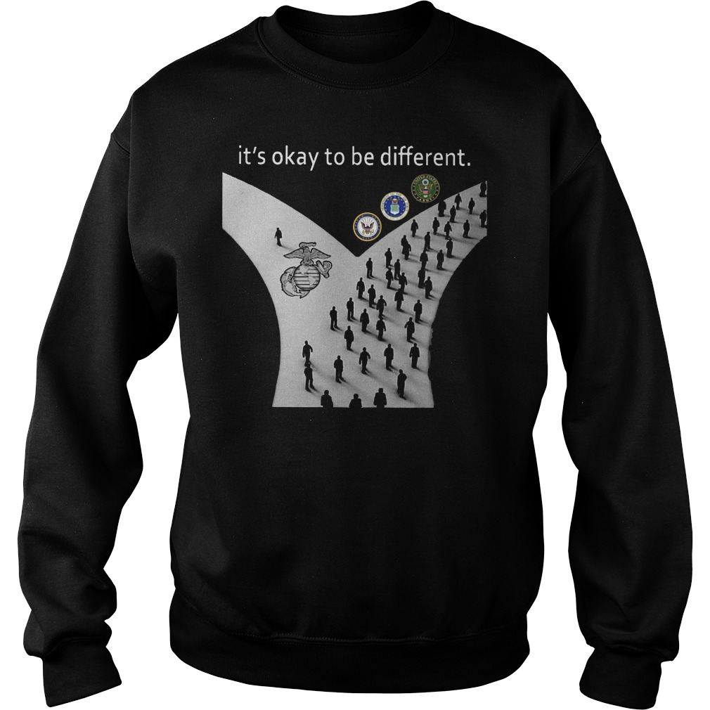 Its Okay To Be Different Way Sweater