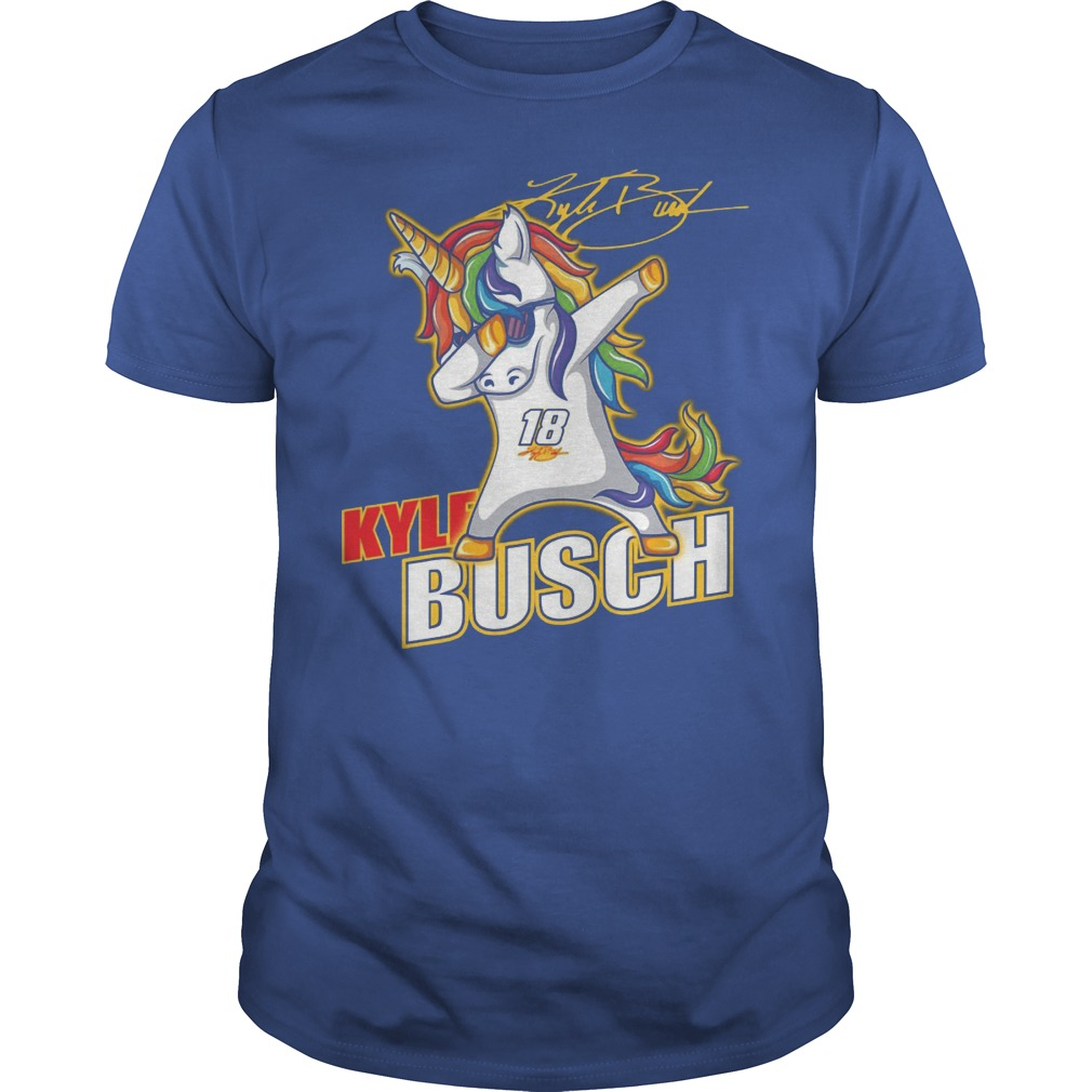 Kyle Busch Unicorn Dabbing Shirt Hoodie Sweater