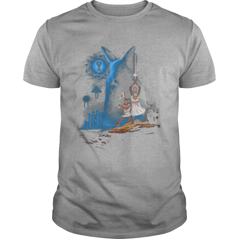 Monty Python And The Holy Grail Wars Shirt