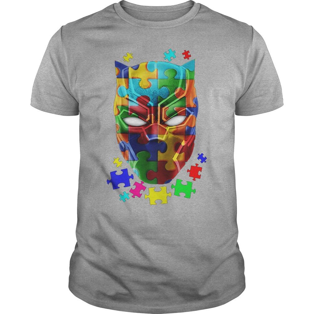 Official Autism Awareness Black Panther Shirt