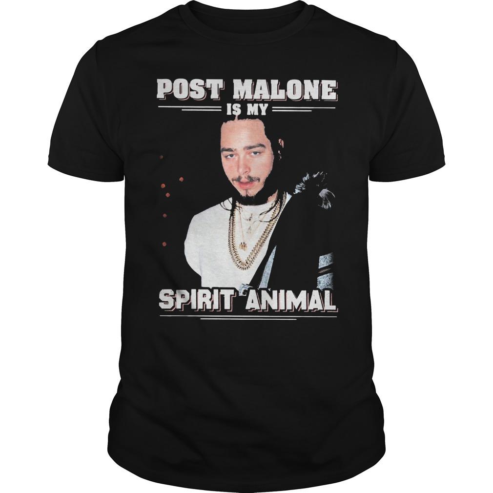Post Malone Is My Spirit Animal Shirt