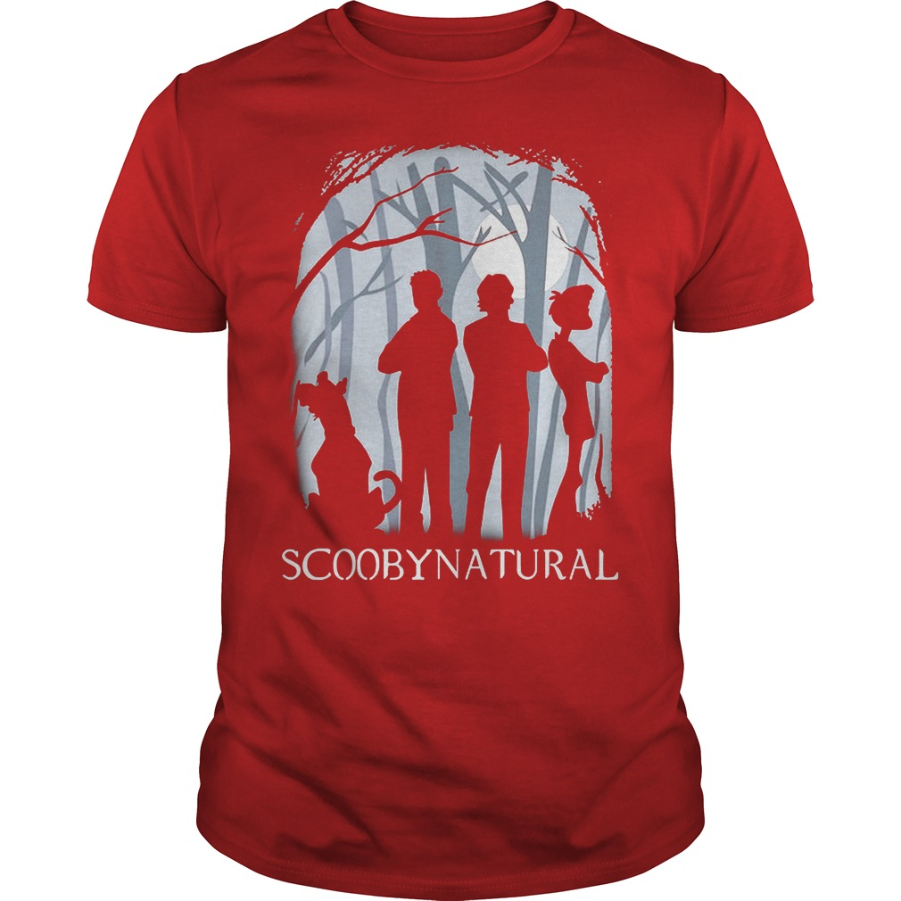 Scooby Natural In The Forest Shirt