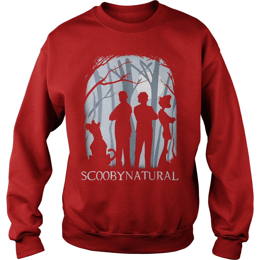 Scooby Natural In The Forest Sweater