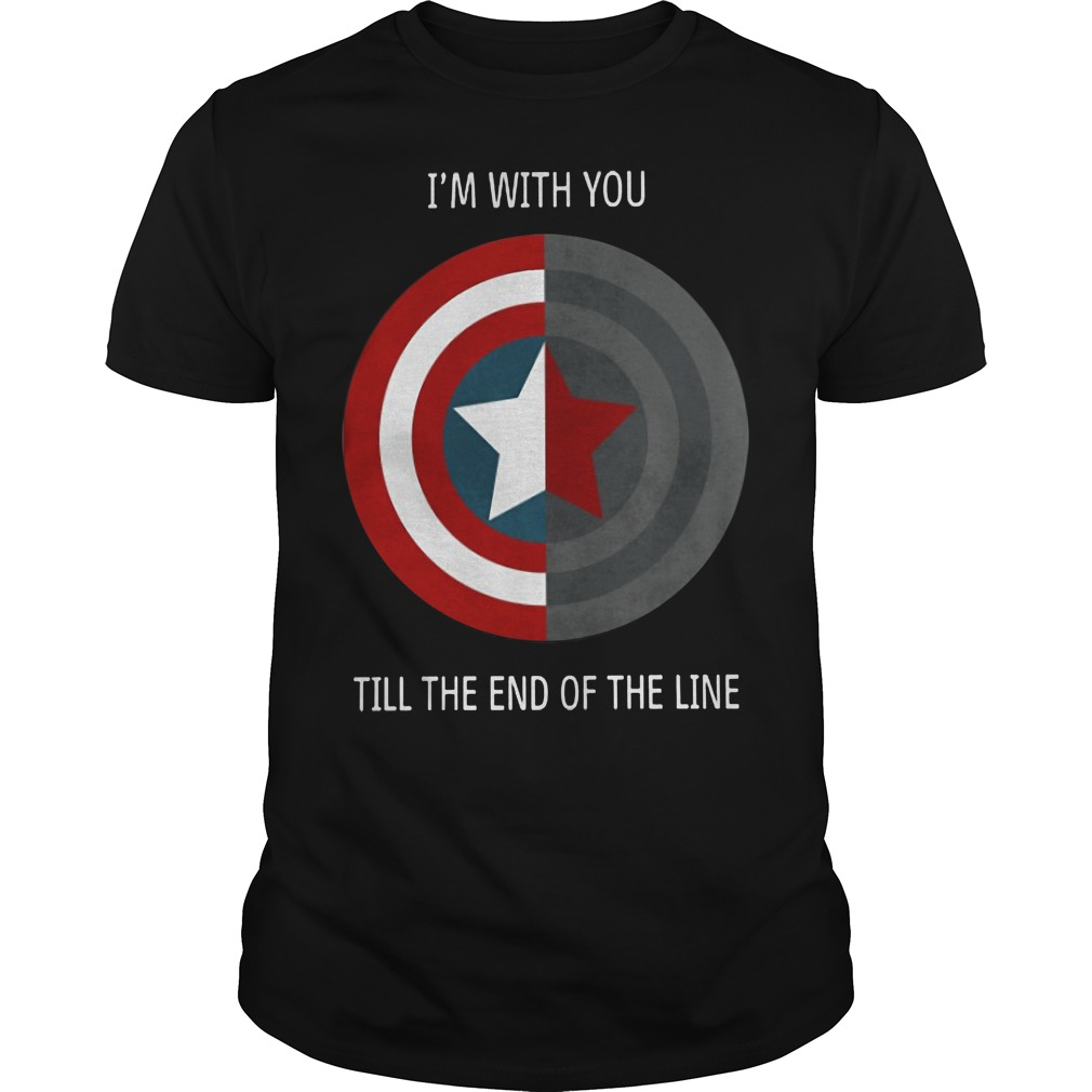 Stevebucky I'm With You Until The End Of The Line Shirt
