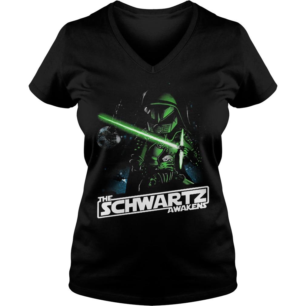 The Schwartz Awakens Darth Vader V Neck