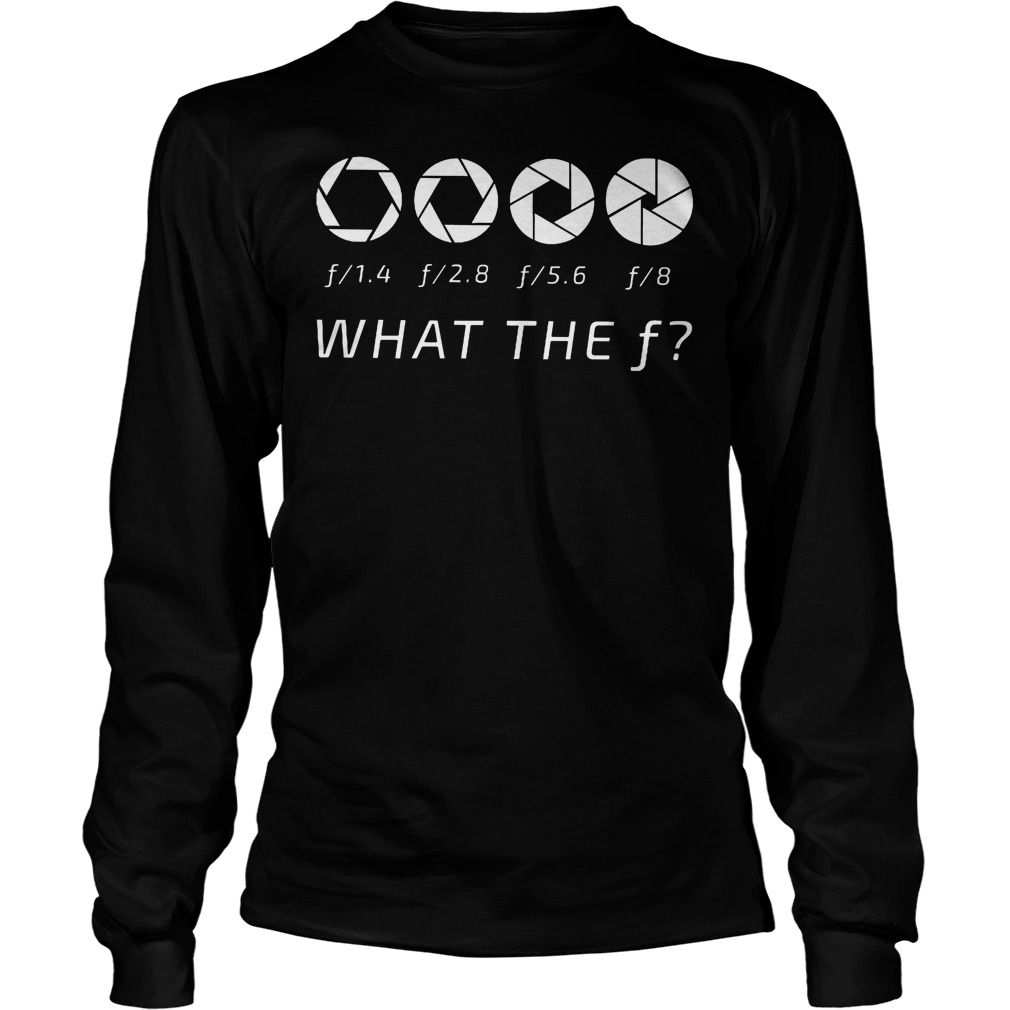 What The F Question Longsleeve