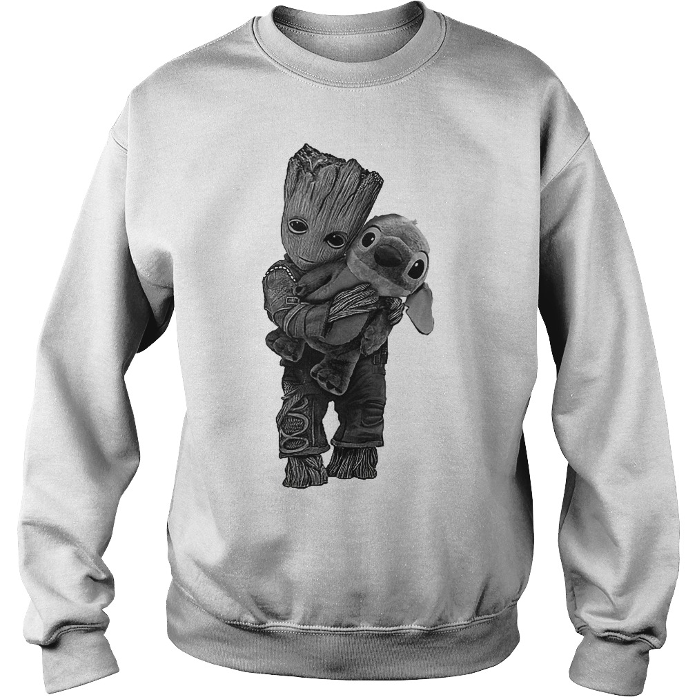 Baby Groot Hug Stitch Sweater