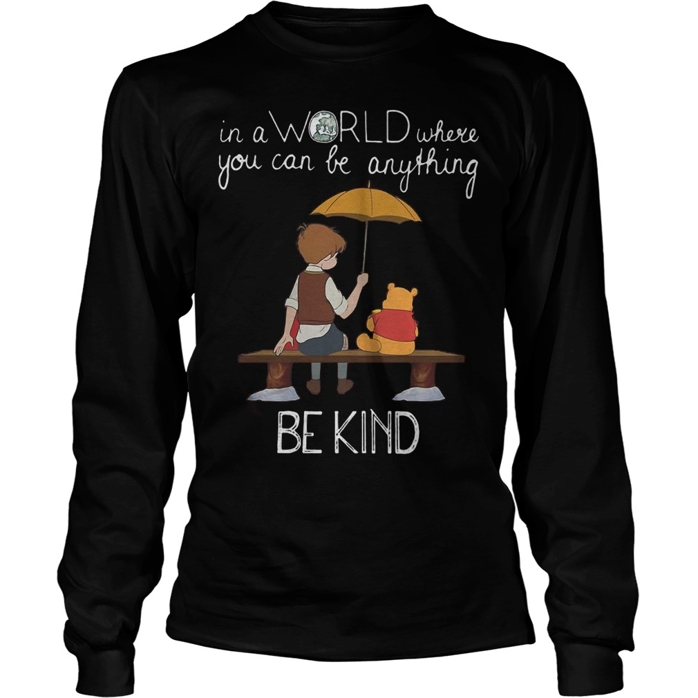 Disney Christopher Robin And Pooh Best Friend Forever Longsleeve