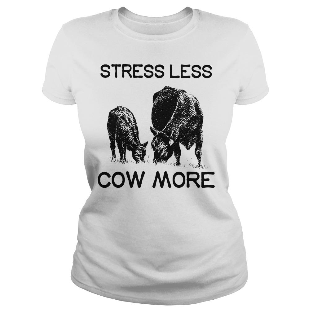 Farmer Stress Less Cow More Ladies