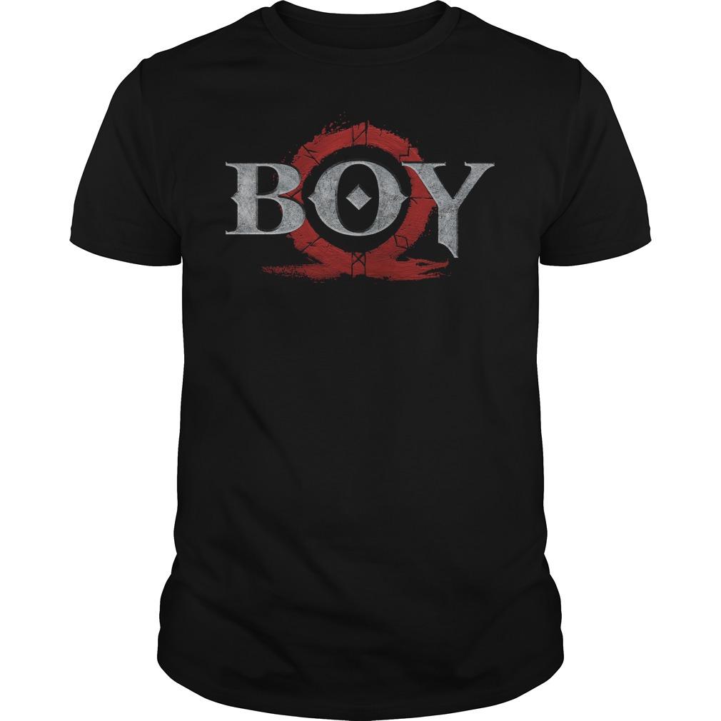 God Of War Boy Shirt