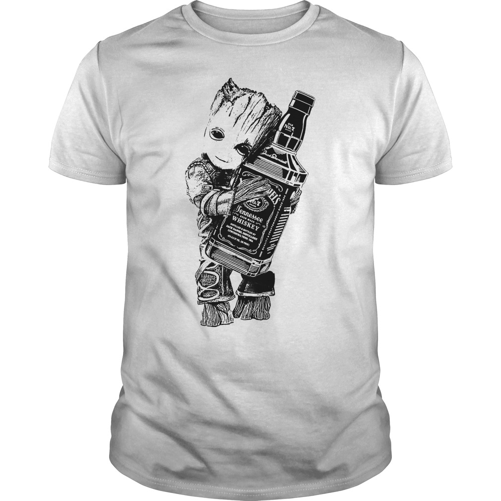 Groot Hug Hennessee Whiskey Shirt