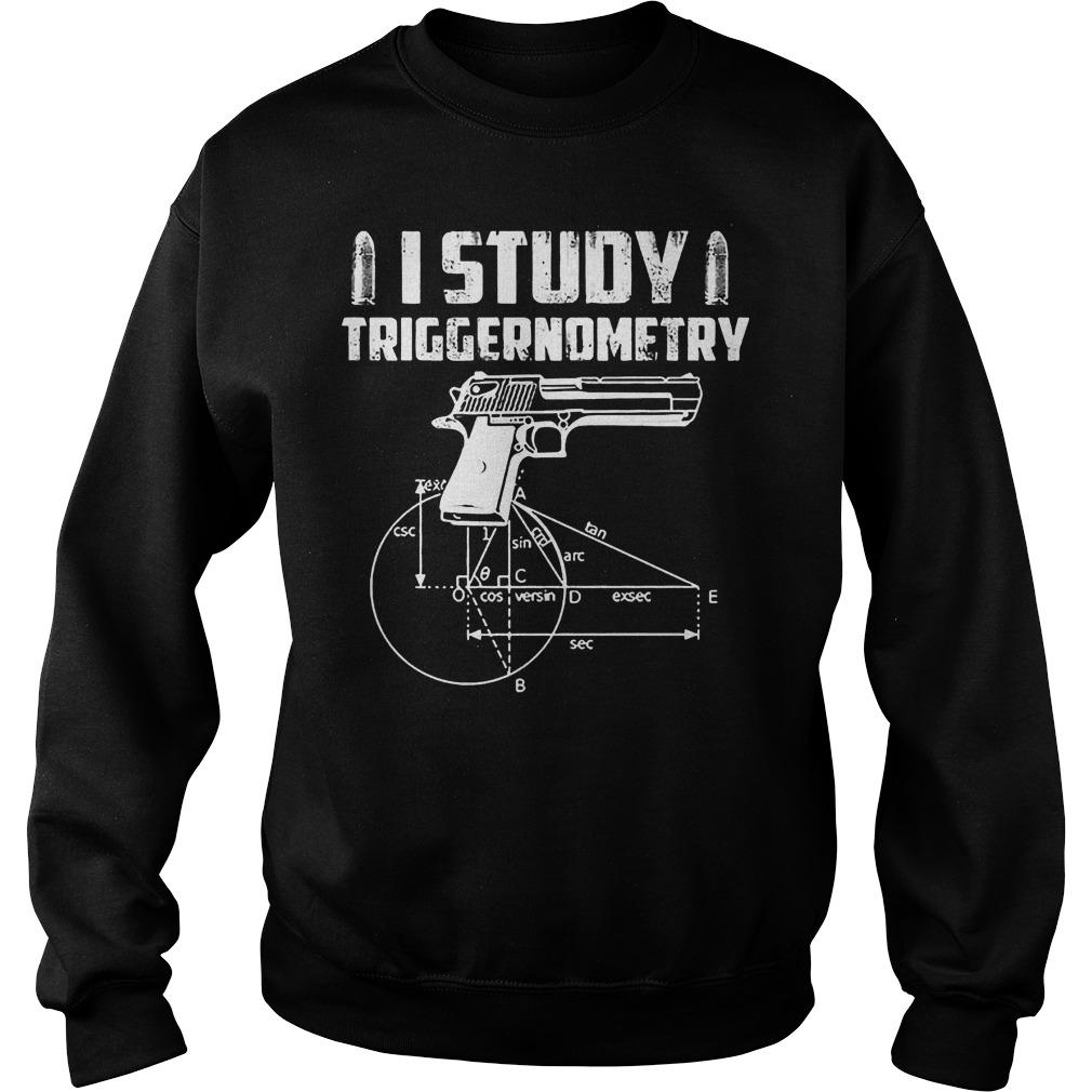I Study Veteran Triggernometry Sweater