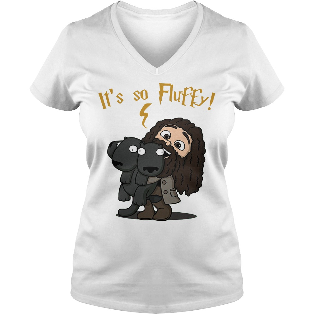It's So Fluffy V Neck