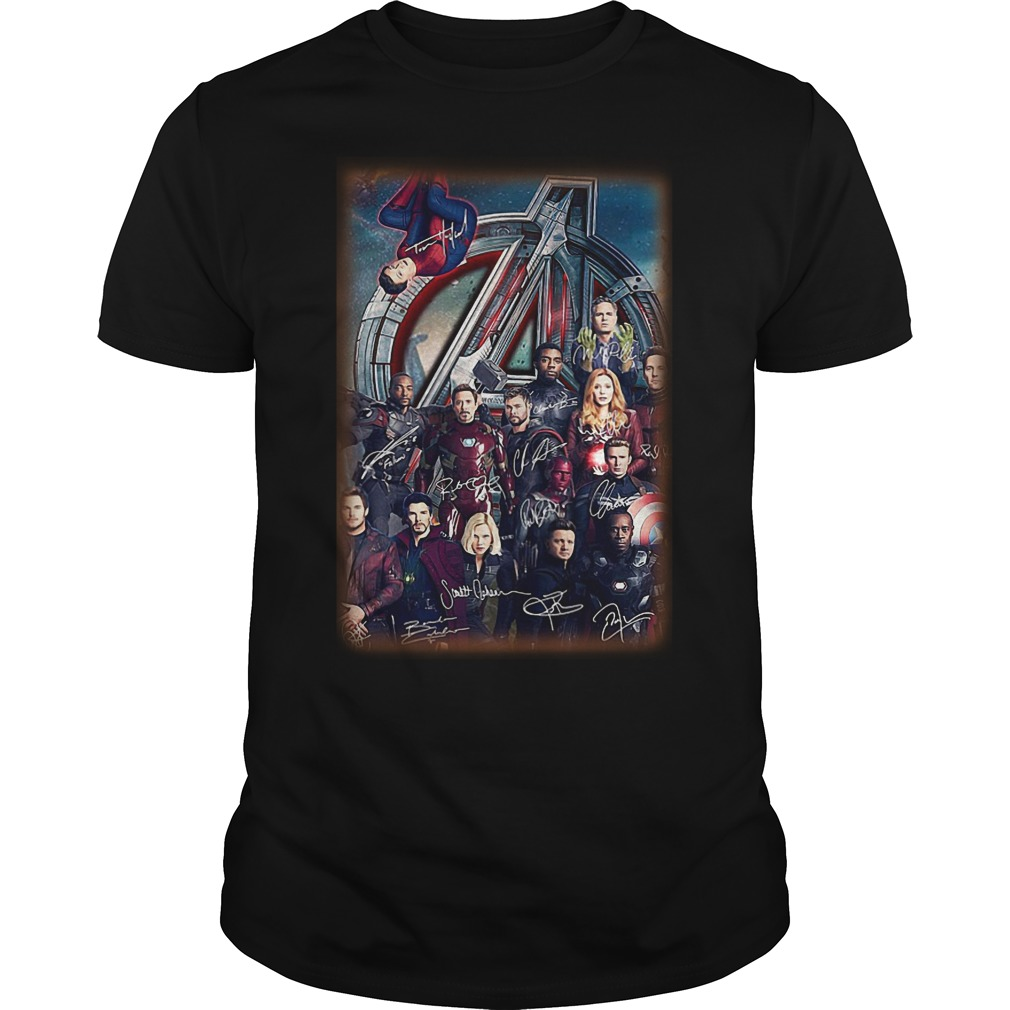 Marvel Character Of Avenger Infinity War Shirt