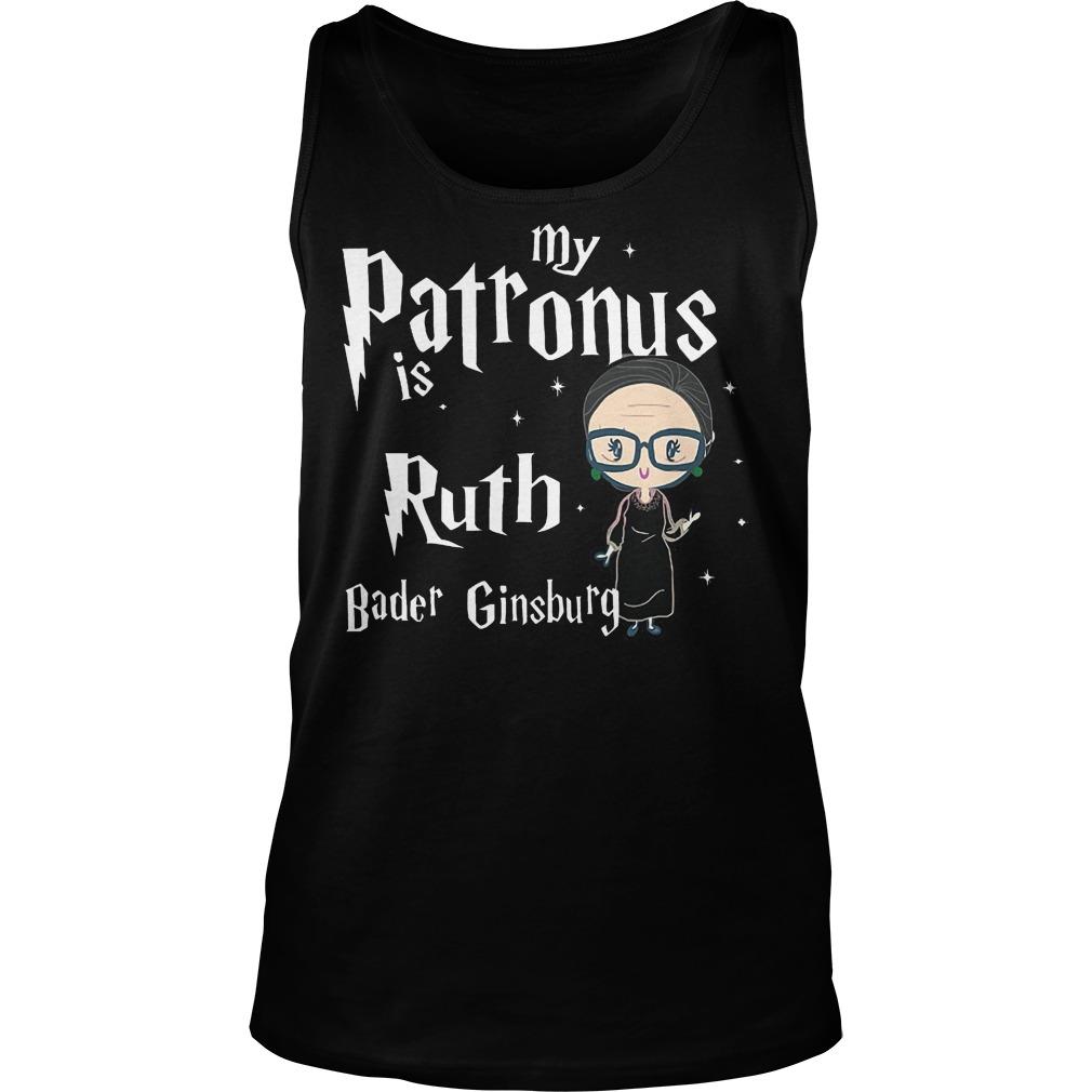 My Patronus Is Ruth Bader Ginsburg Tanktop