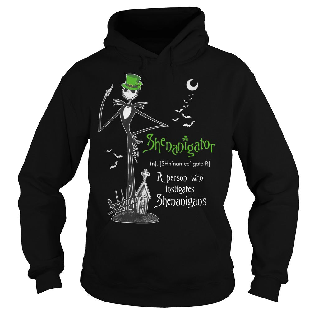 Shenanigator The Nightmare A Person Who Instigates Shenanigans Hoodie