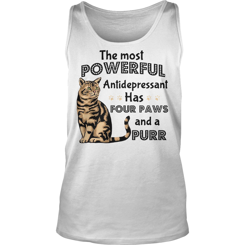 The Most Powerful Antidepressant Has Four Paws Tanktop