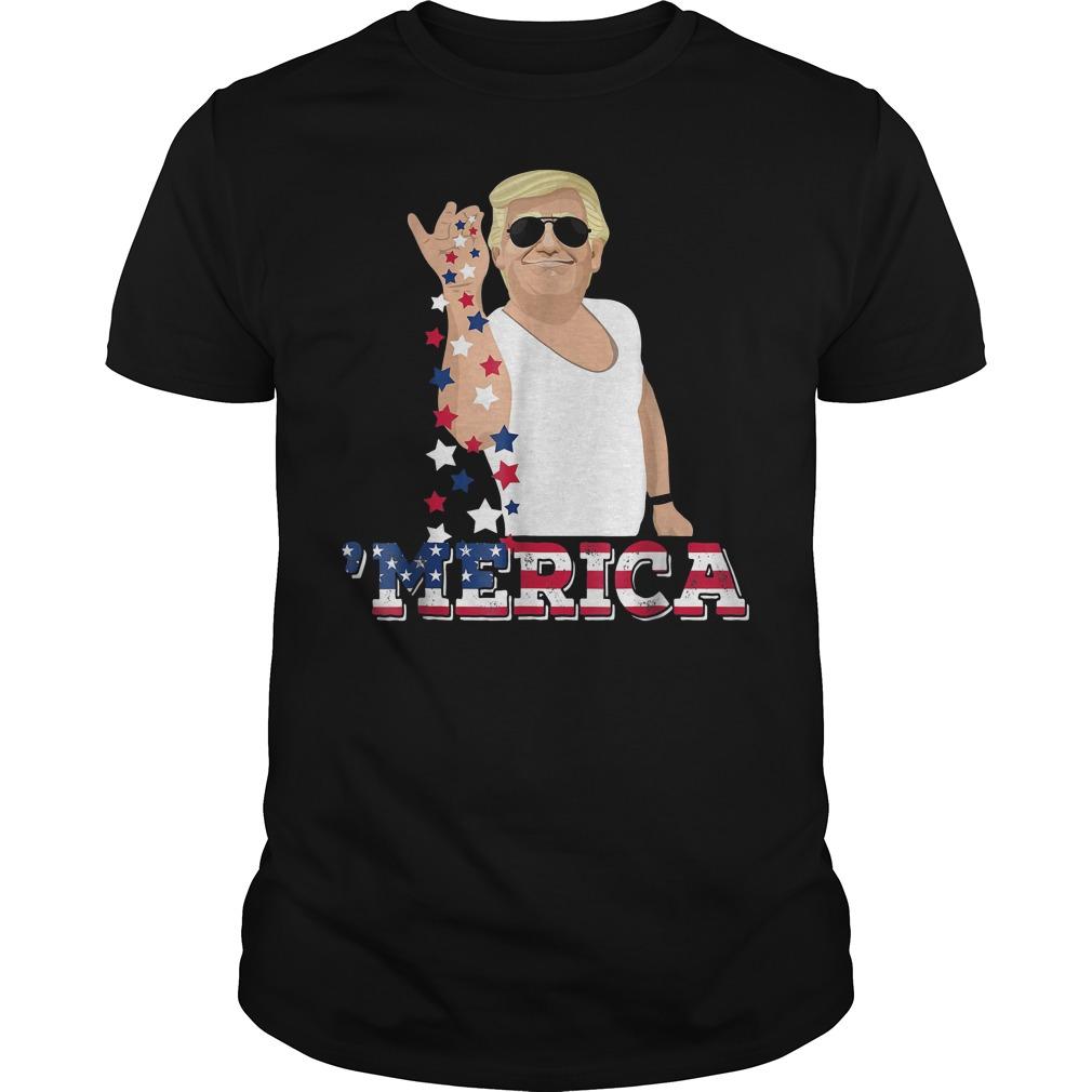 4th Of July Donald Trump Bae Salt Freedom T-Shirt