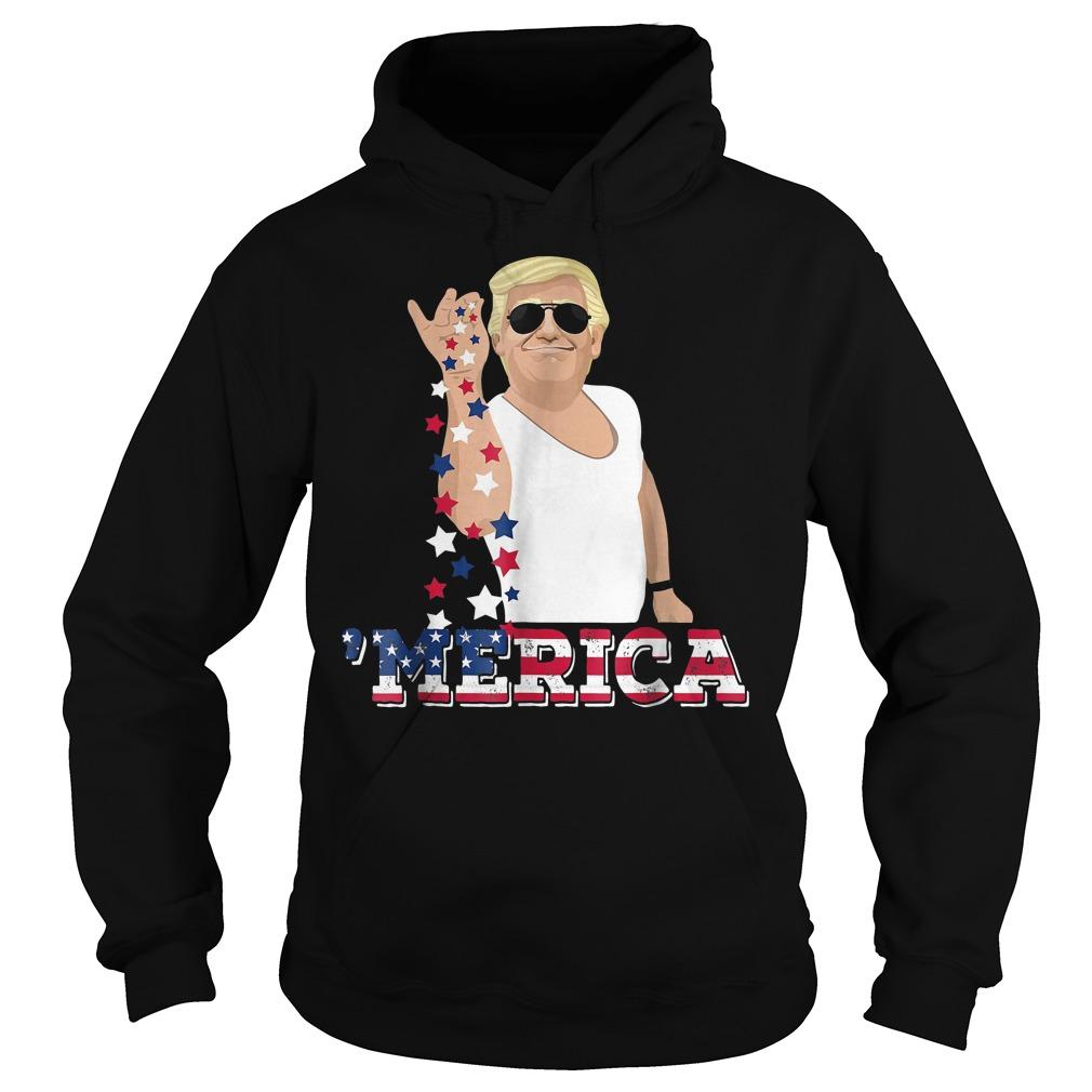 4th Of July Donald Trump Bae Salt Freedom Hoodie