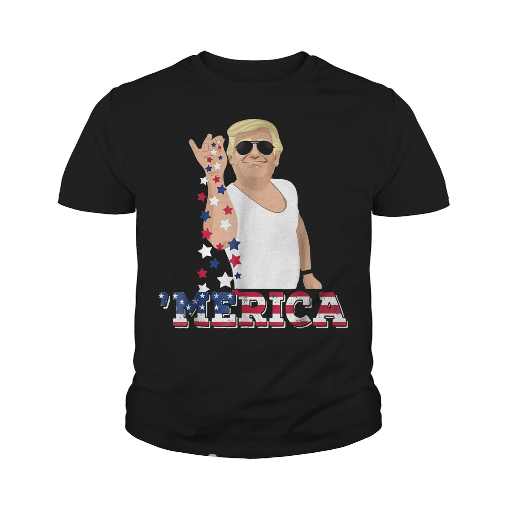 4th Of July Donald Trump Bae Salt Freedom Youth Tee