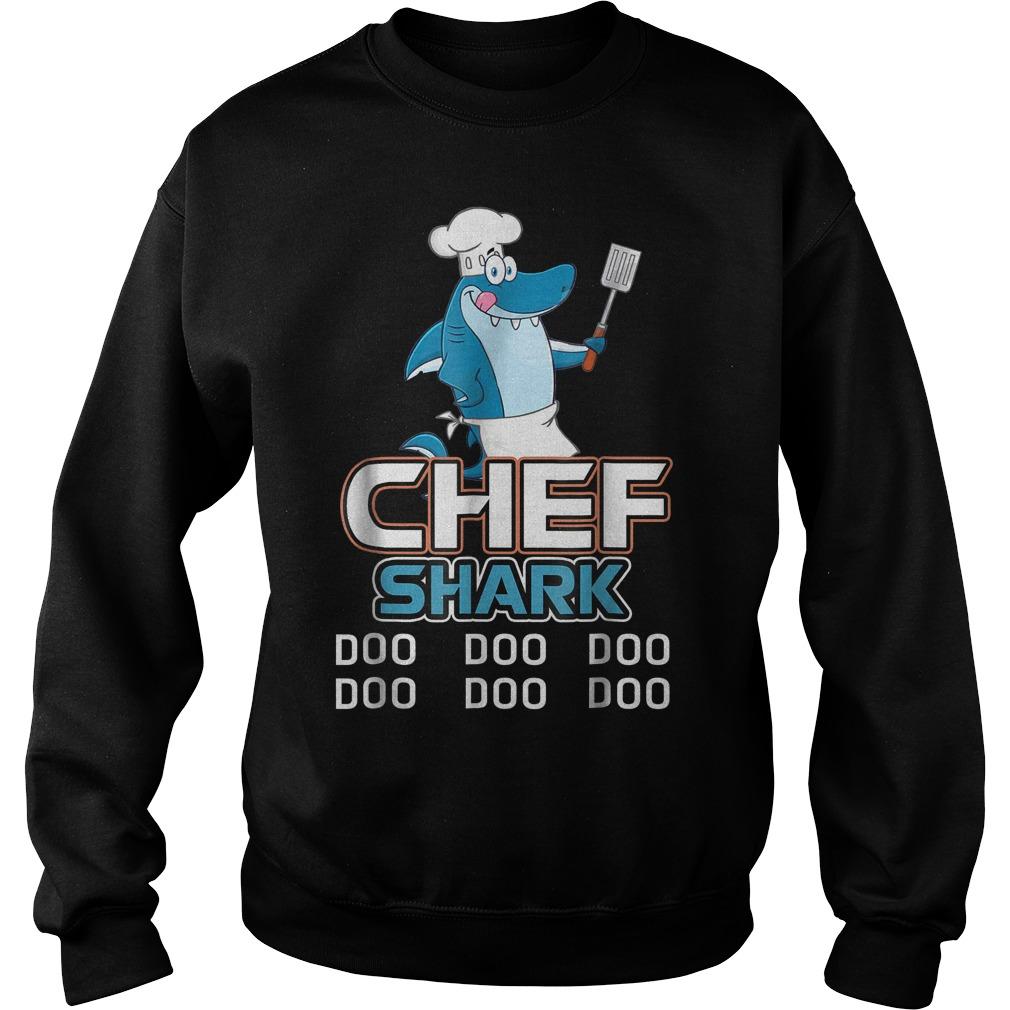 Chef Shark Doo Doo Doo Sweater