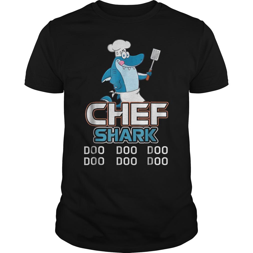 Chef Shark Doo Doo Doo T Shirt