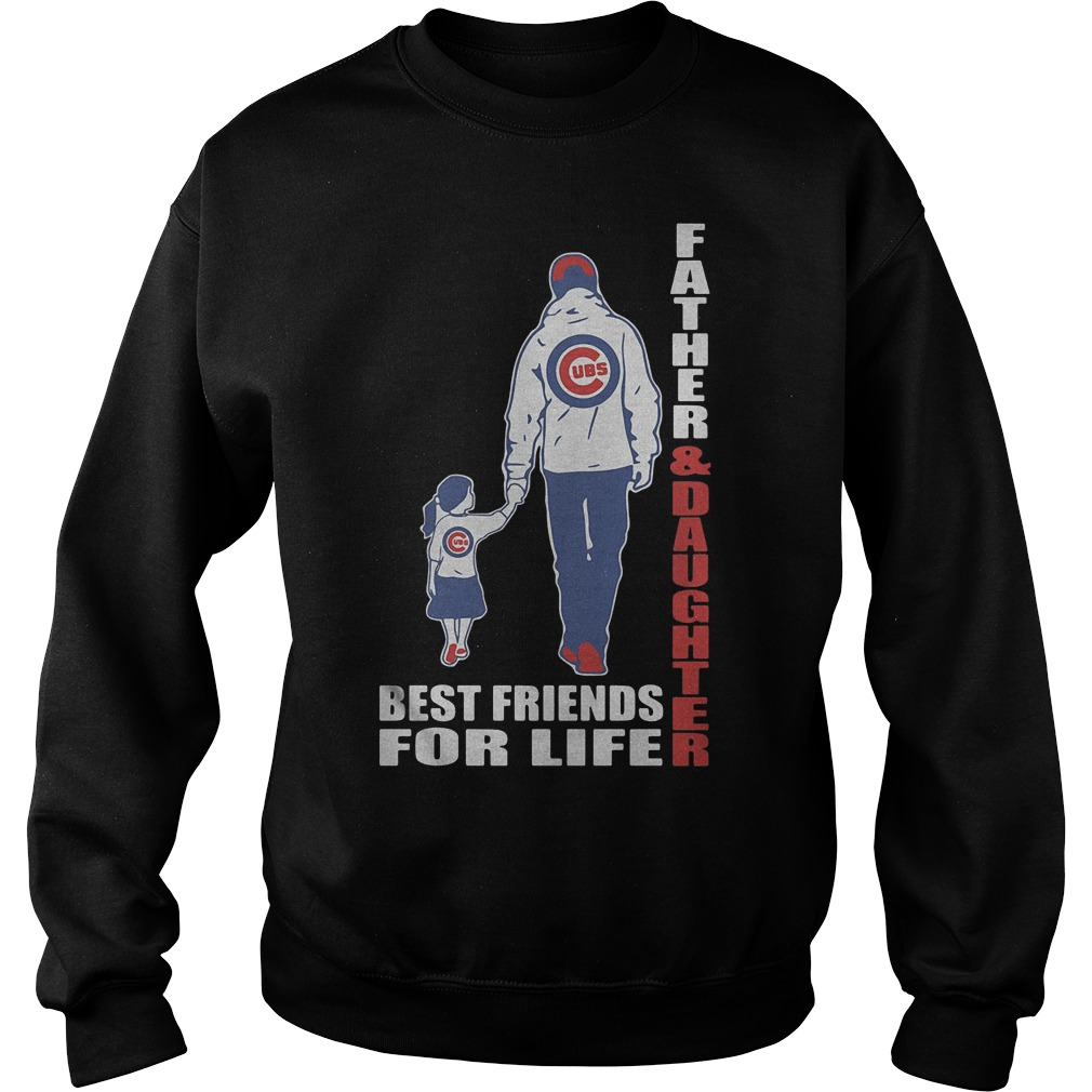 Chicago Cubs Father And Daughter Best Friends Sweater