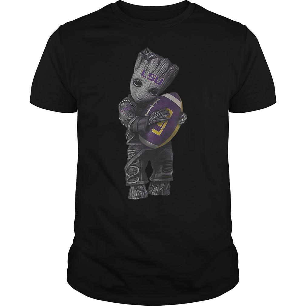 Groot Hugs Louisiana State University T Shirt