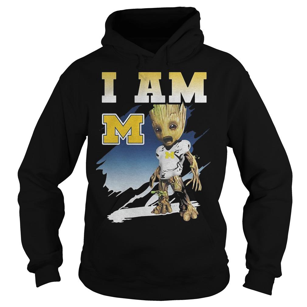 Groot I Am Michigan Wolverines Hoodie