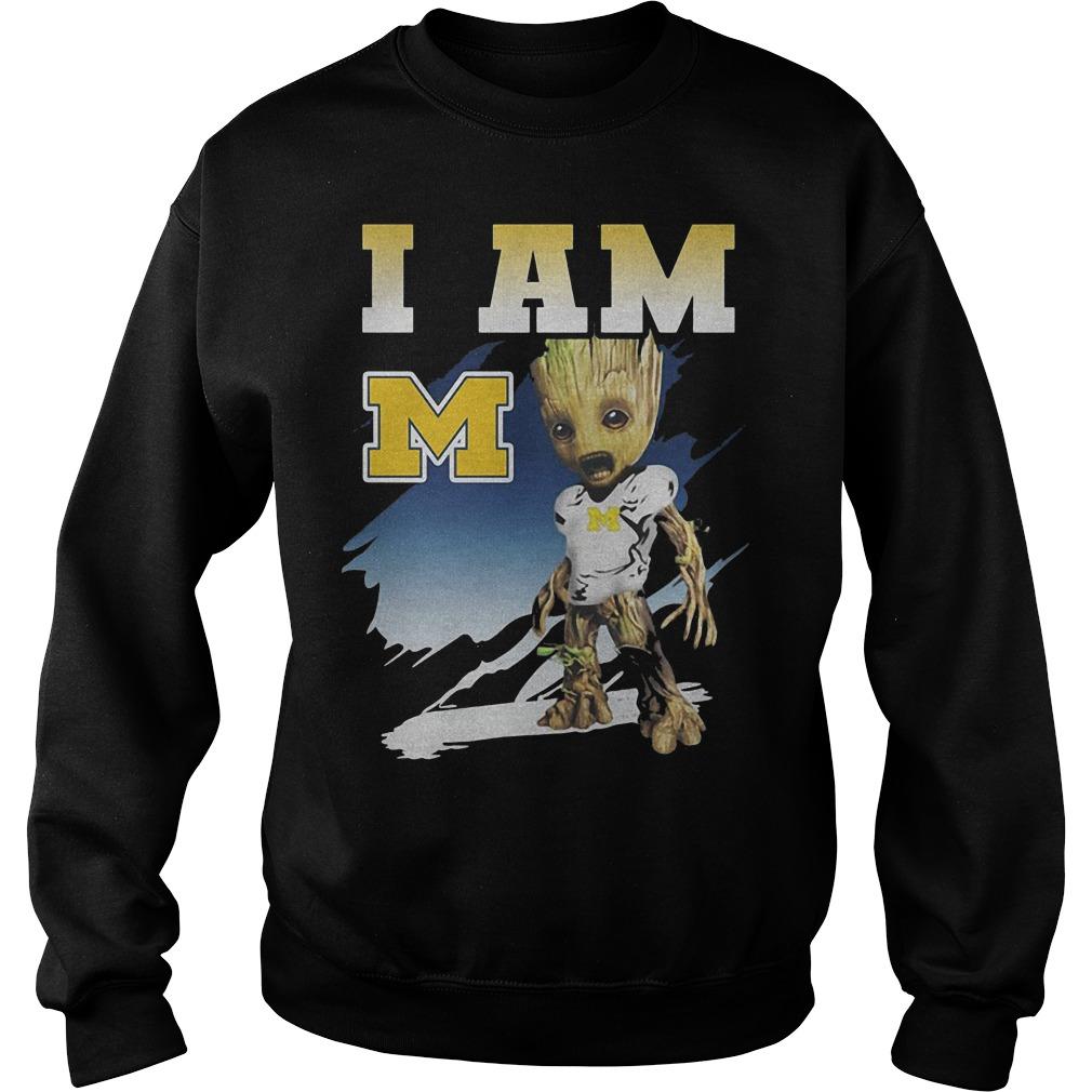 Groot I Am Michigan Wolverines Sweater