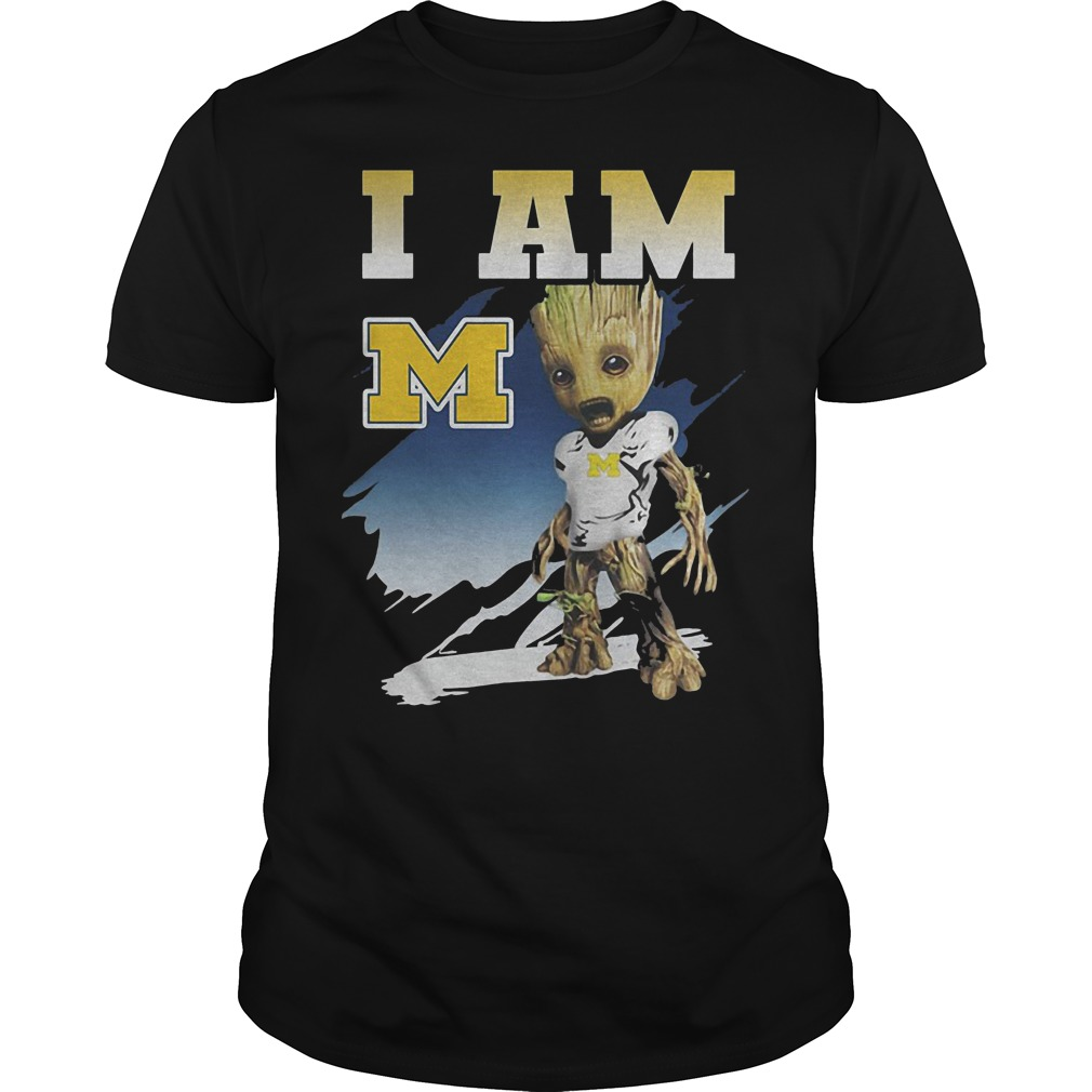 Groot I Am Michigan Wolverines T Shirt