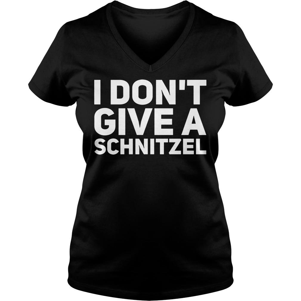I Don't Give A Schnitzel V Neck