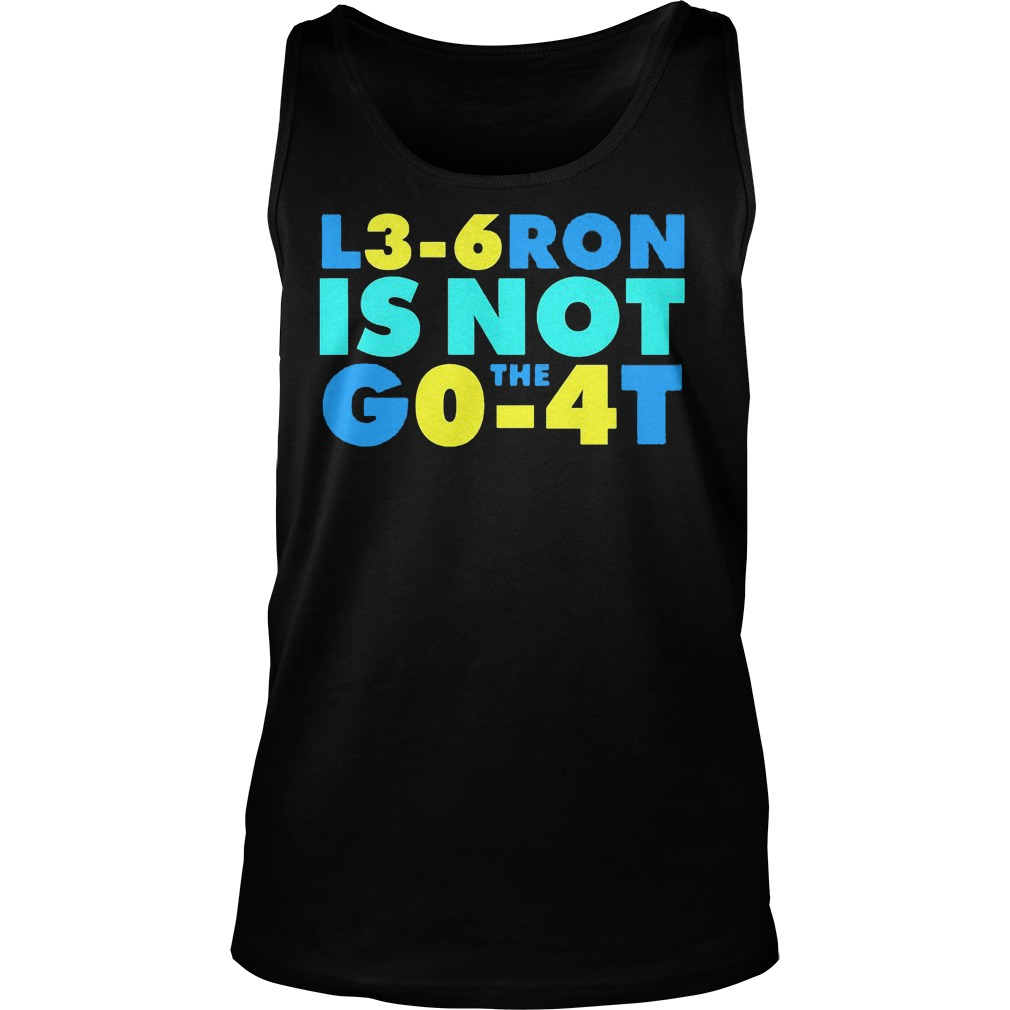 L3 6 Ron Is Not Go The 4t Tanktop