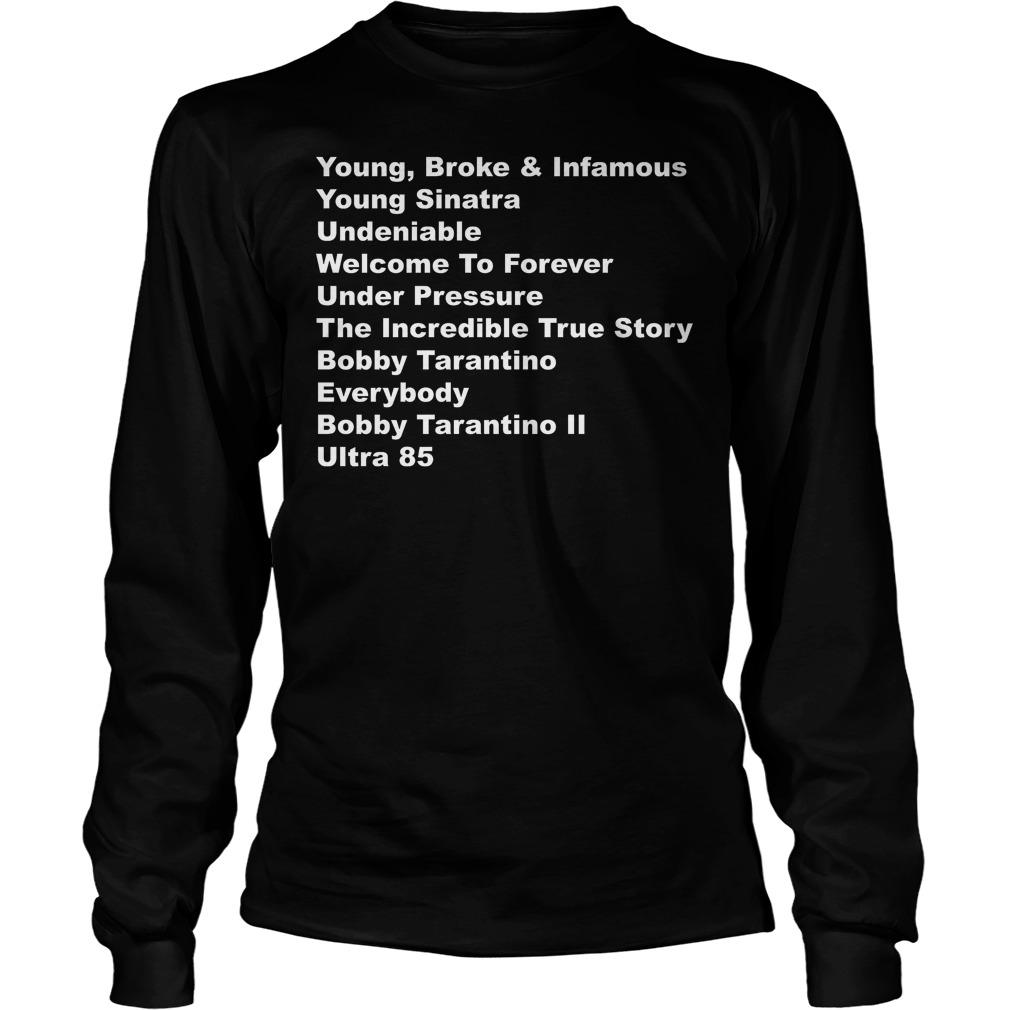 Logic Rapper List Of Albums Discography Longsleeve