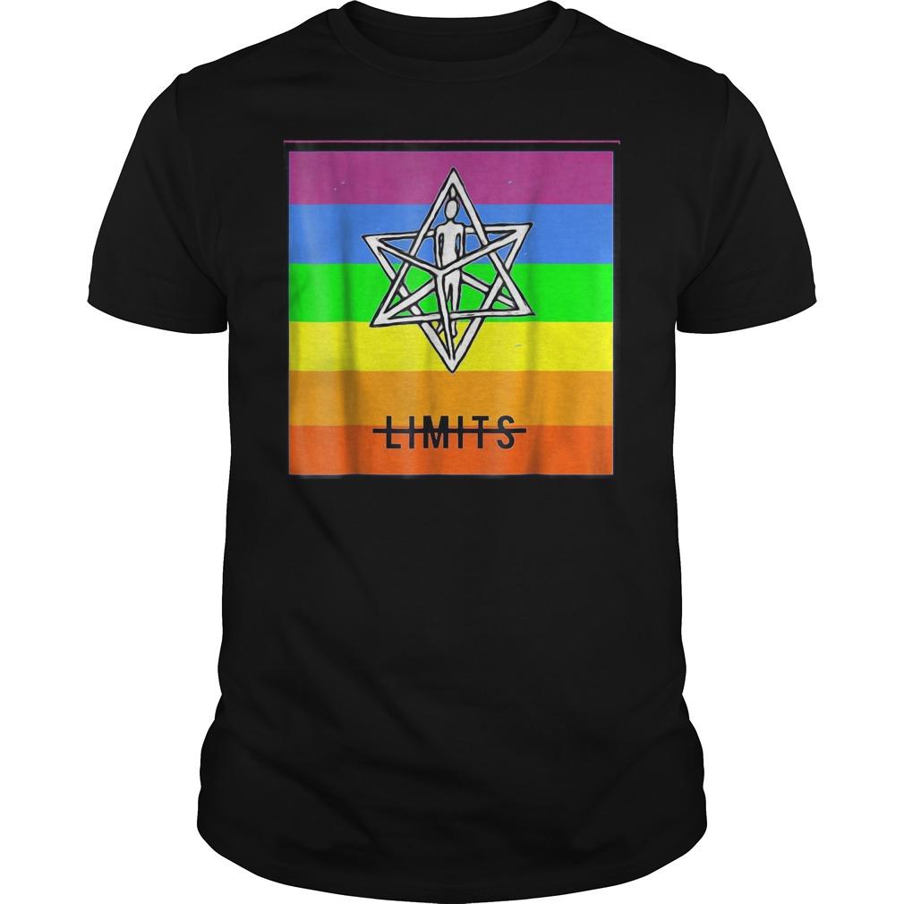 No Limits Merkaba Rainbow T Shirt