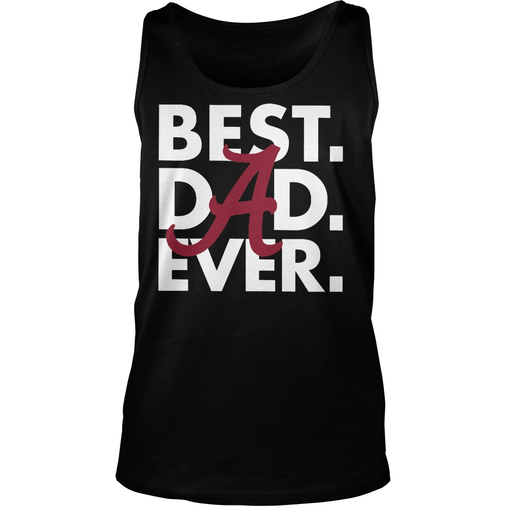 Official Best Dad Ever Tanktop