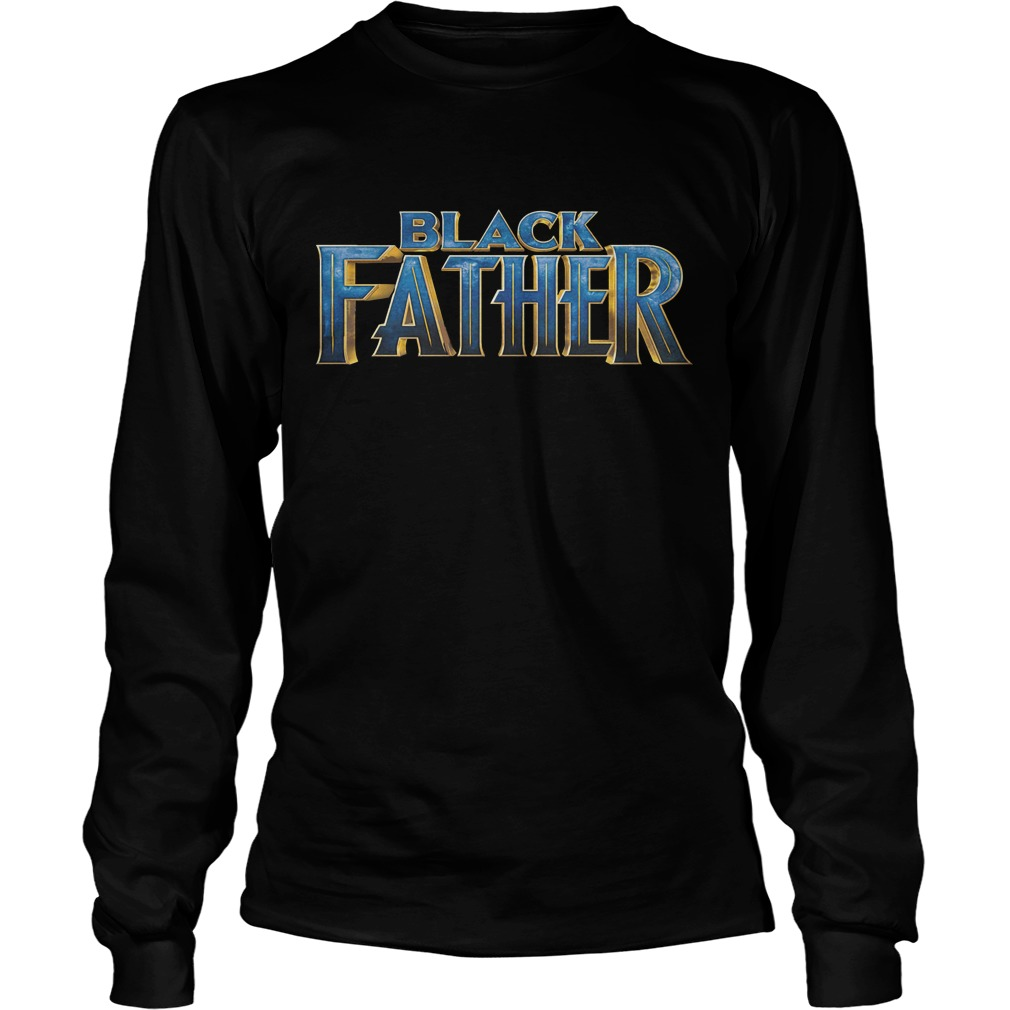 Official Black Father Longsleeve