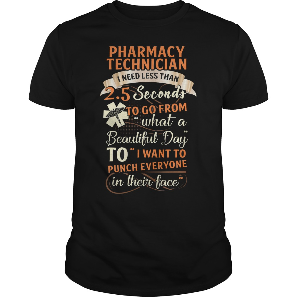 Pharmacy Technician I Need Less Than 25 Seconds To Go From Shirt
