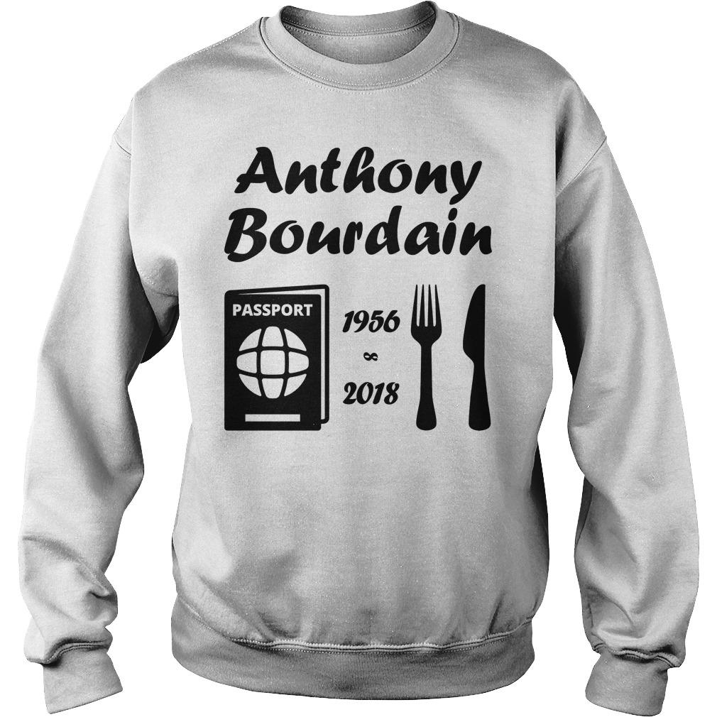Rip Anthony Bourdain 1956 2018 Sweater