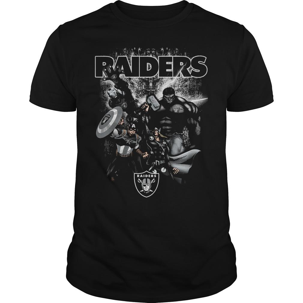 Raiders Avengers T Shirt